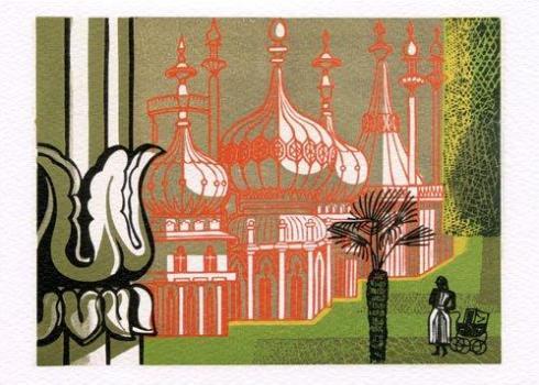 Royal-Pavilion-Brighton-by-Edward-Bawden